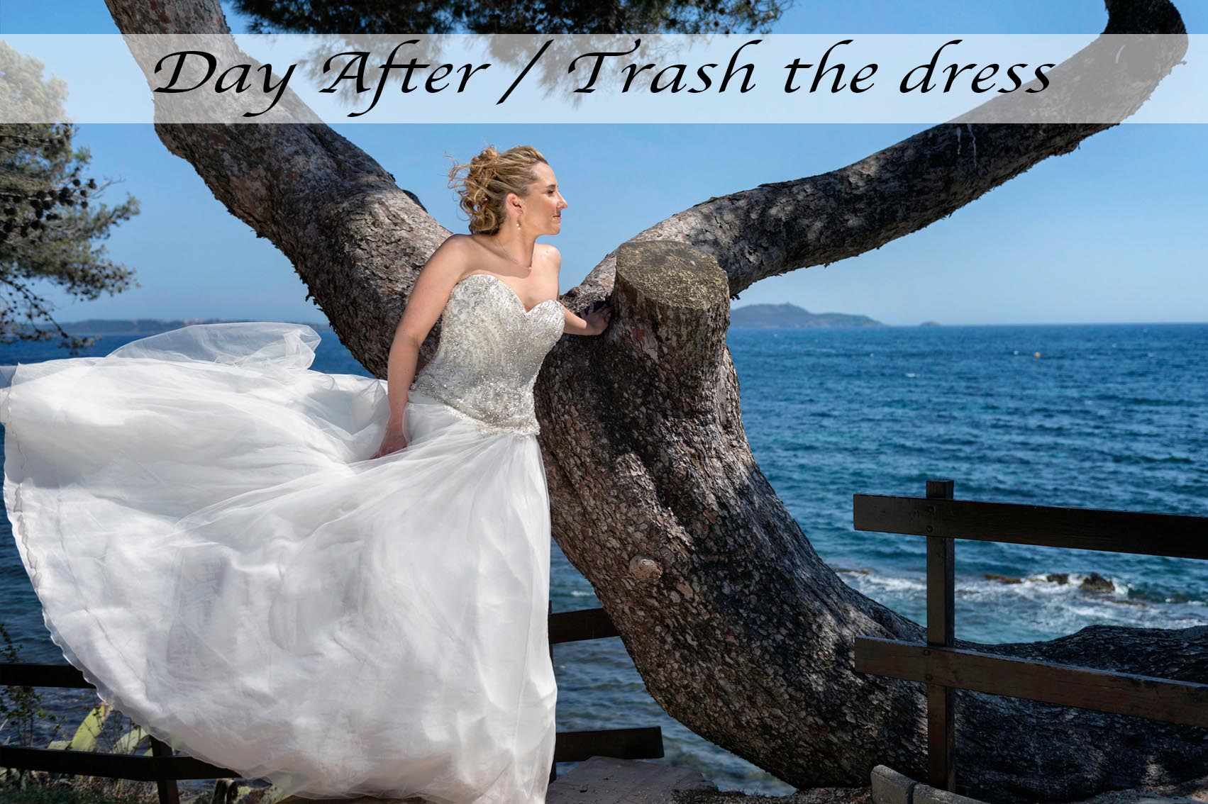 Day after - trash the dress